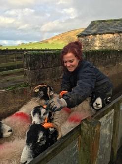 Hannah Jackson, Farmer and Shepherdess